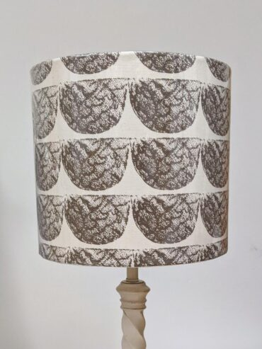 AFRIWEST ELEY LAMPSHADE MOCHA BROWN