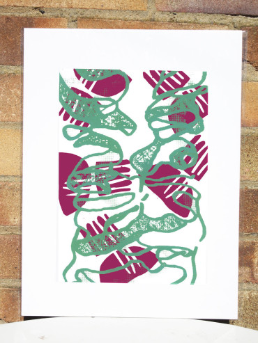 IMPRINTED COLLAR ART PRINT