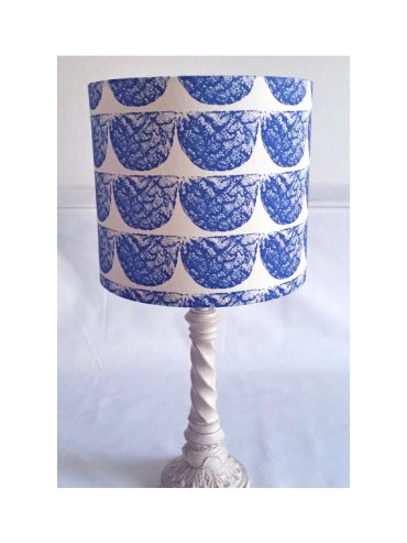 AFRIWEST ELEY LAMPSHADE IN NAVY