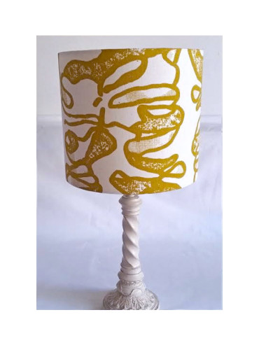 AFRIWEST COLLAR LAMPSHADE IN MUSTARD