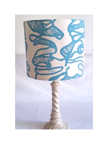 AFRIWEST COLLAR LAMPSHADE SEA BLUE