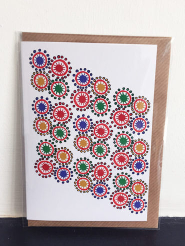 MAASAI BEADS GREETING CARD