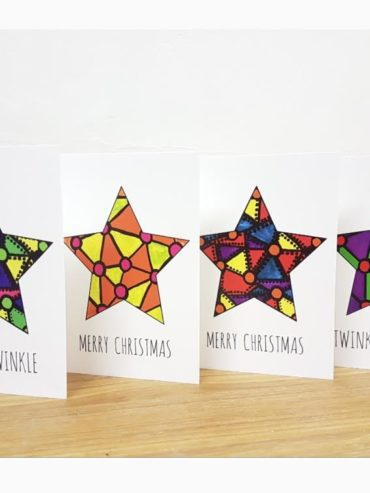 Special edition Christmas Art cards – 4 pack