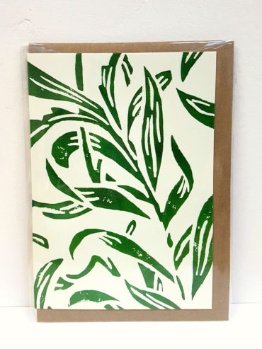 Vine Leaves Greeting Card