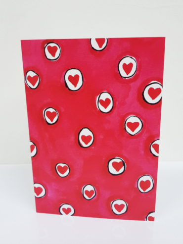 Sea of Hearts Greeting Card