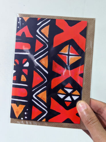 Mud Cloth Greeting Card