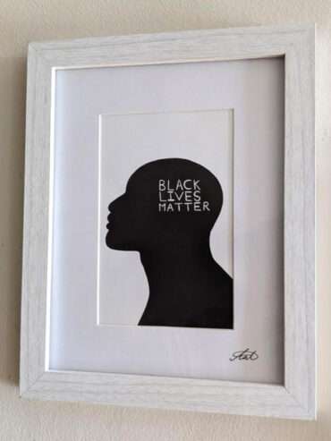 Black Lives Matter Framed Art